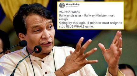 Twitterati react to railways minister Suresh Prabhu's 'offer to resign'