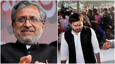 Sushil Modi asks Tejaswi Yadav to vacate government bungalow without damage