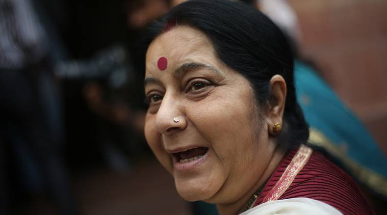 sushma swaraj, medical visa to pakistan, india-pakistan relations, independence day, external affairs ministry, medical visa in all bonafide cases, indian express