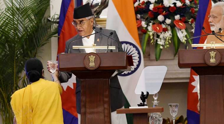 Modi breaks protocol to meet Deuba