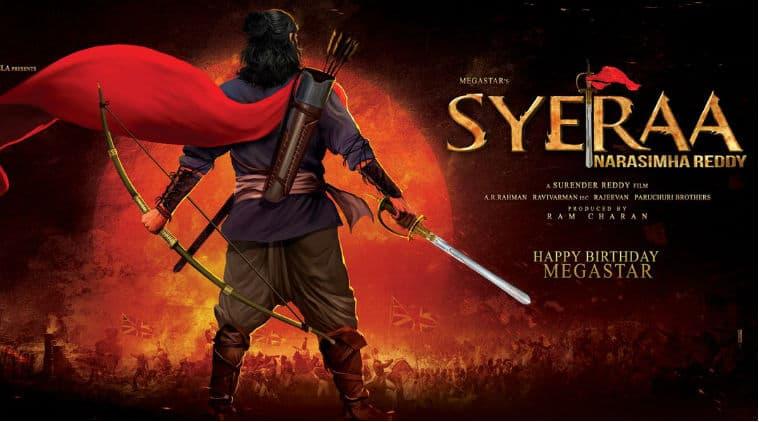 Sye Raa Narasiimha Reddy stars Chiranjeevi