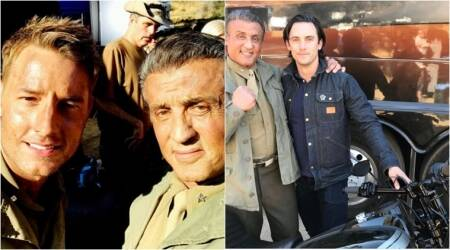 Sylvester Stallone begins shooting for This is Us; see photos