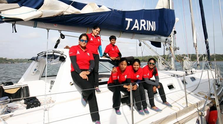 Indian navy all women crew reaches NZ