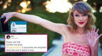 Taylor Swift's social media pages are showing a 'blank space', and her fans are freaking out!