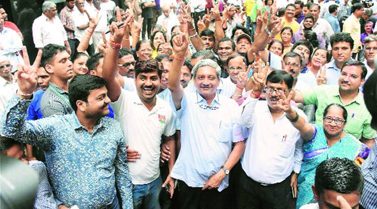 Manohar Parrikar wins Panaji by-election by 4803 votes