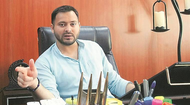 tejashwi yadav, lalu yadav son, tejashwi yadav interview, bihar politics, rjd, indian express