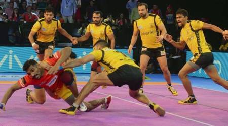 Pro Kabaddi 2017 Live score, UP Yoddha vs Haryana Steelers live score: UP Yoddha 29-36 Haryana Steelers in Lucknow