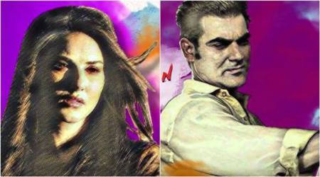 Tera Intezaar teaser: Arbaaz Khan is the artist in this colourful Sunny Leone starrer