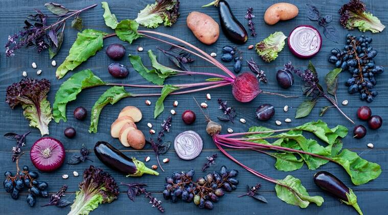 purple food, purple coloured fruits, purple coloured food, healthy food, natural purple pigment in food, health-promoting chemicals, heal body cells, Indian express, Indian express news