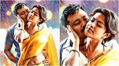Thiruttuppayale 2 first look: Amala Paul and Bobby Simha's hot embrace is the talk of town. Seephoto