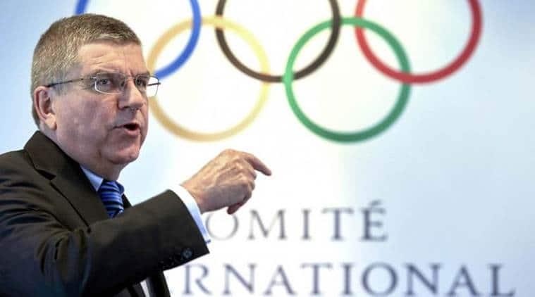 Thomas Bach, IOC, Carlos Nuzman, Lamine Diack