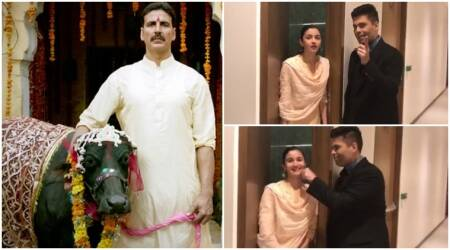 Toilet Ek Prem Katha: Karan Johar asks Alia Bhatt to watch the Akshay Kumar film, but she gets confused. Watch video