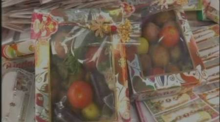 This Kanpur shopkeeper is selling a unique gift item this Rakhi: not chocolates, not sweets…but veggies