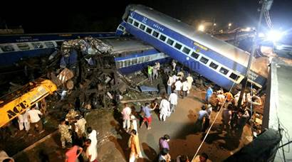 Utkal Express derailment: Photos that show scale of tragedy