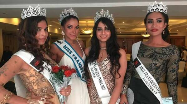Miss Transqueen India, first Miss Transqueen India, Miss Transsexual Australia 2017, Trans Woman, Transgender, LGBT, empower transsexuals, Indian express, Indian express news