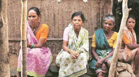 A tribal woman fights for her people's right to amenities like water,electricity