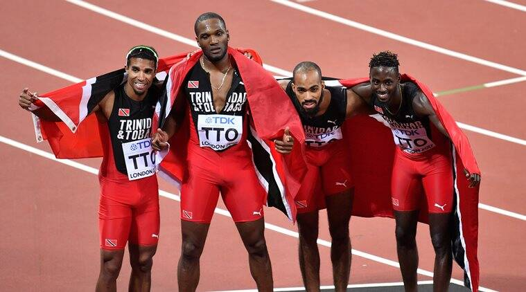 Trinidad and Tobago, World Championships, Indian Express