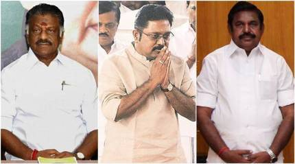 AIADMK crisis live updates: Dinakaran loyalists being moved to hotels in Puducherry; DMK demands floor test