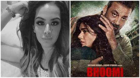 Trishala Dutt shares a sweet thank you after daddy Sanjay Dutt launched Bhoomi trailer on her birthday
