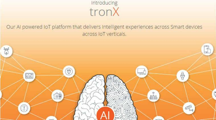 Smartron, tronX, Smartron tronX, AI, Artificial intelligence, AI applications