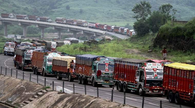 cross border trade, india pakistan trade, Cross-LoC trade, indian express news, india news