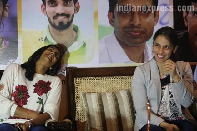 pv sindhu, saina nehwal, kidambi srikanth, p gopichand, world badminton championships, vijay goel, badminton, indian express