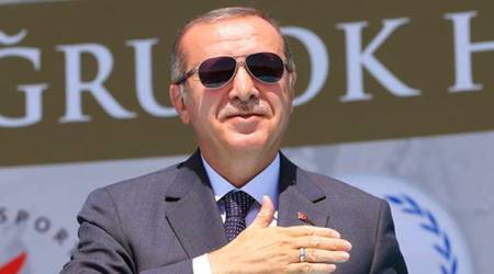Turkey President Recep Tayyip Erdogan pledges military support for Qatar on Doha visit