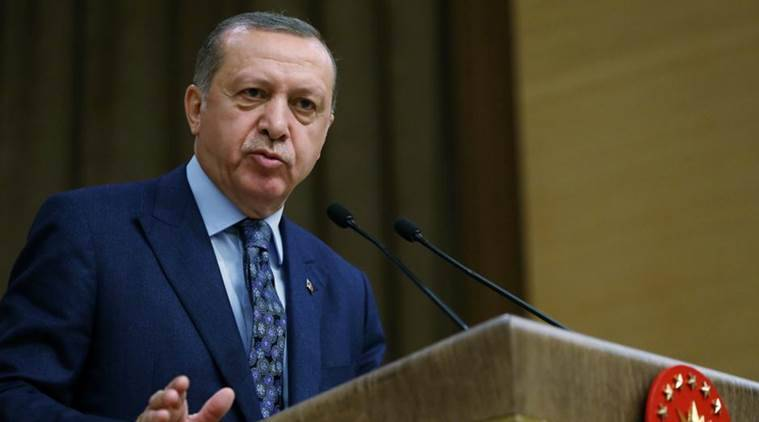 Recep Tayyip Erdogan, Erdogan, Turkey, Ukraine, Crimea, World news, Indian Express news