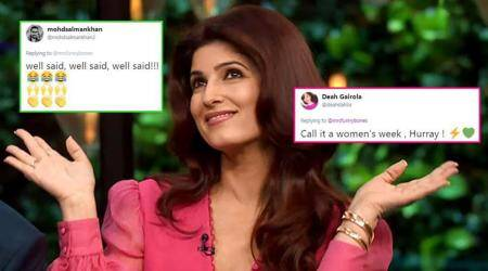 Twitterati go ROFL-ing over Twinkle Khanna's tweet on Right to Privacy and TripleTalaq