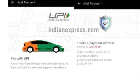 Uber launches UPI-based payments for its app in India