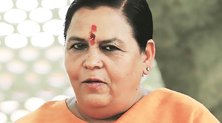 Uma Bharti, former minister, ganga rejuvenation, poor performance, cabinet reshuffle, Narendra Modi, Uma Bharti Interlinking of Rivers, India News, Indian Express, Indian Express News