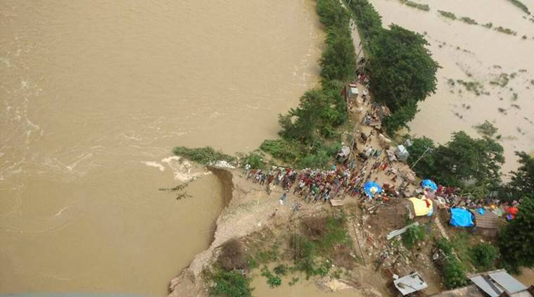UP floods, Uttar Pradesh floods, flood death toll, monsoon, assam floods, bihar floods, india, indian express news
