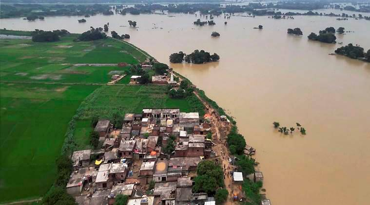 floods, floods in uttar pradesh, uttar pradesh floods, up floods, up flood death toll