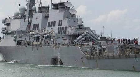 US divers find remains of missing sailors inside missiledestroyer