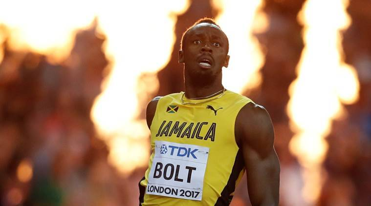 usain bolt, bolt, Justin Gatlin, usain bolt 100m, bolt final race, usain bolt london race, athletics, sports news, indian express