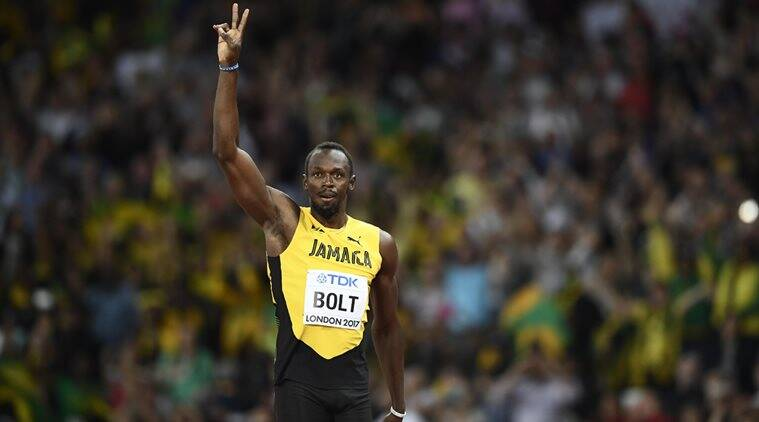 Usain Bolt, Usain Bolt's last race, Usain Bolt's last race live streaming, Usain Bolt's last race live tv streaming, athletics news, indian express