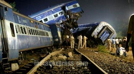 Utkal Express derails in UP, 20 die: 14 coaches go off track, over 80 injured