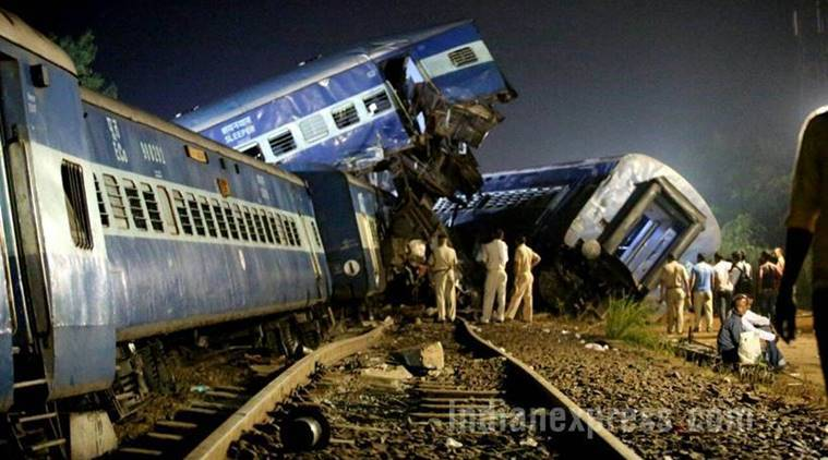 utkal express, utkal express accident, train accident, utkal express derailment, muzaffarnagar train accident, utkal express route, muzaffarnagar train derailment, kalinga utkal express derails, kalinga utkal express accident, kalinga utkal train accident,puri-haridwar-kalinga express accident, uttar pradesh, up train accident, india news, indian express