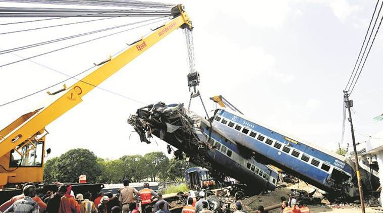 utkal express derailment news, railway ministry news, india news, indian express news
