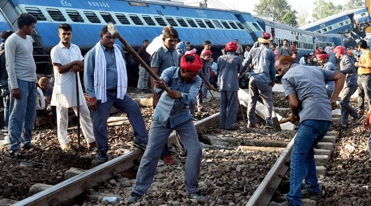 utkal express, utkal express accident, train accident, utkal express derailment, muzaffarnagar train accident, indian railways, kalinga utkal express accident, uttar pradesh, india news, indian express