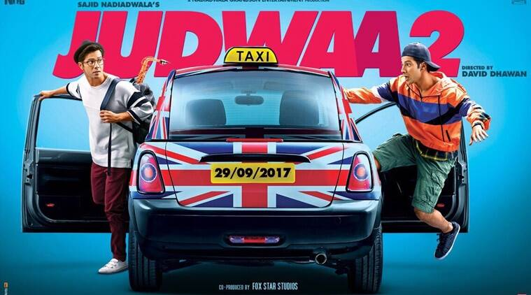 On father David Dhawan's birthday, Varun Dhawan releases Judwaa 2 poster