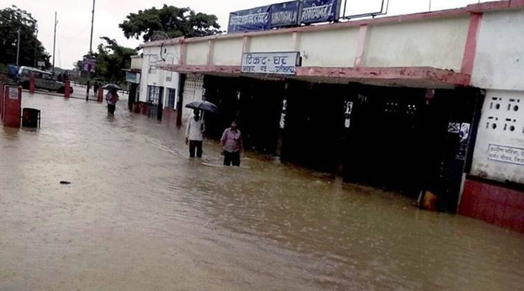 Heavy rains trigger flood-like situation