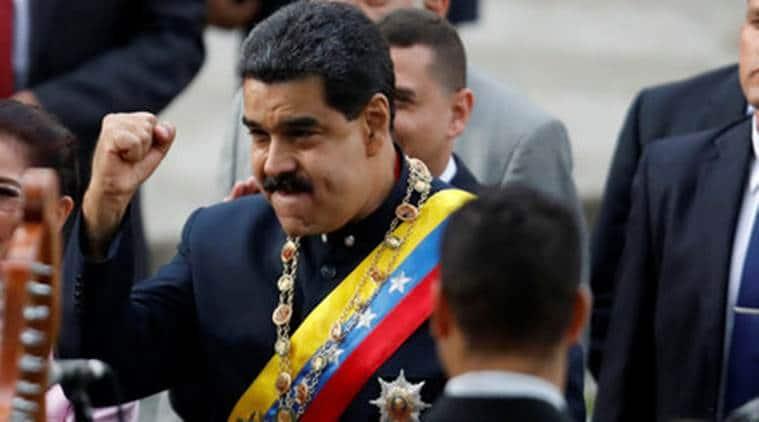 venezuela, us venezuela sanctions, nicolas maduro, donald trump, maduro direct talk with trump, trump venezuela, indian express news