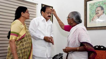 Venkaiah Naidu travels the distance from pasting party posters as young boy to becoming V-P elect