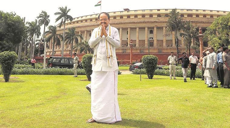 Venkaiah Naidu, Vice-President, Rajya Sabha Chairman, Monsoon session, parliament, narendra Modi, Ram Nath kovind,