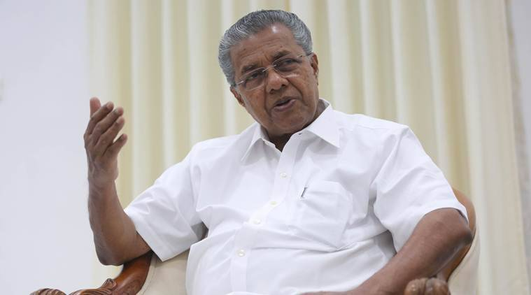 Pinarayi Vijayan, Kerala CM, Chief Minister, Pondicherry University, Keralite students, STudents attacked, India News, Indian Express