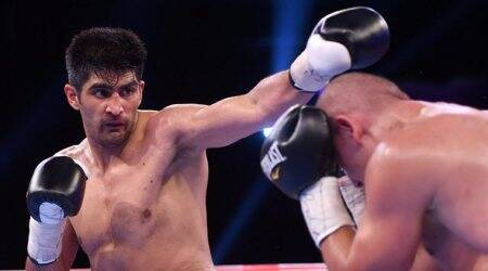 Vijender Singh rakes in Twitter applause after stretching streak to 9-0