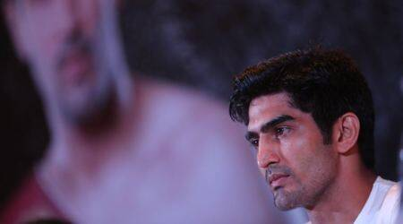 I am in no hurry and want to move ahead slow and steady, says Vijender Singh