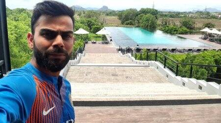 India vs Sri Lanka: Virat Kohli reaches Dambulla; see pic