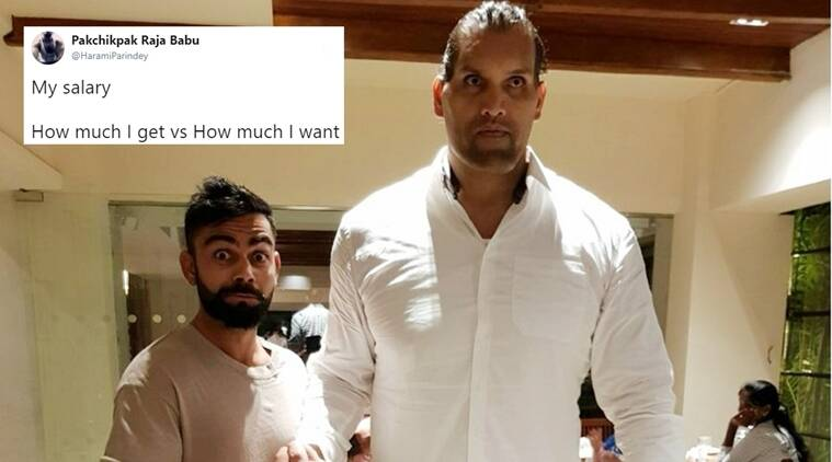 When Virat Kohli met The Great Khali!